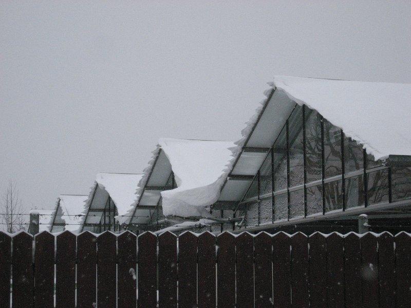 Schneeverwehung Mannheim